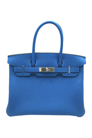 Pre-owned Taurillon Clemence Birkin 30