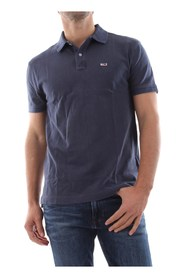 TOMMY JEANS DM0DM07800 GARMENT DYE POLO POLO Men NAVY