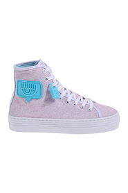 Logomania glitter sneakers