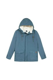 Vernon parka with faux-fur lining