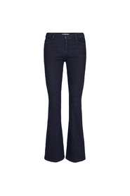 Blå Co`Couture Denzel Boot Cut Jeans