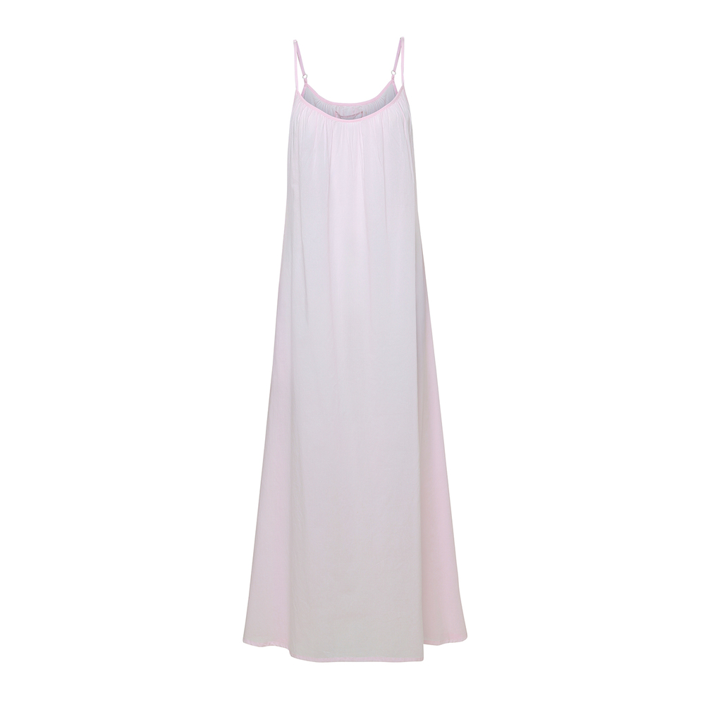 Cave Strap Dress-Rose Water-S