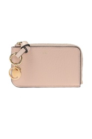 Card case with charms