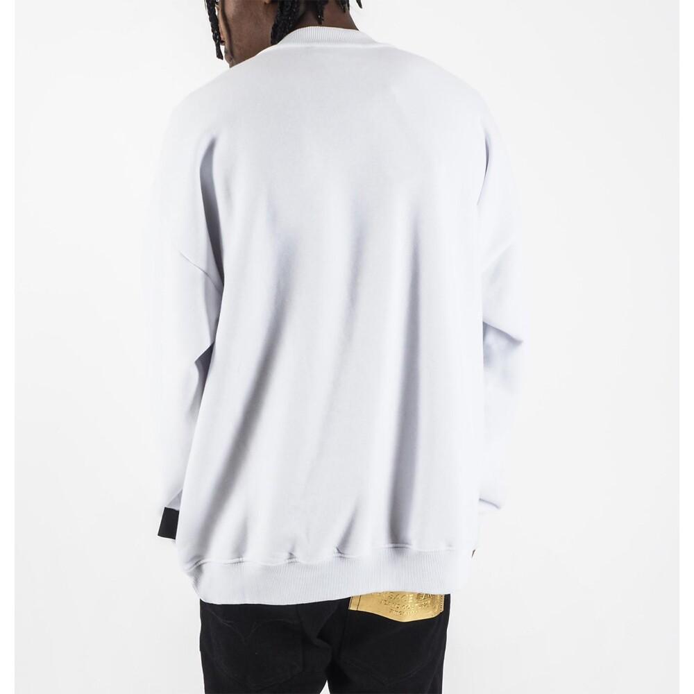 White sweatshirt | Versace Jeans Couture | Hoodies  sweatvesten | Heren winter kleren