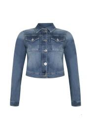 Jacket cropped jeans