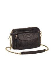 Big Charly python leather bag