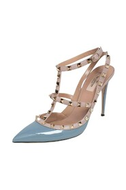 Pre-owned Ankle Strap Pumps