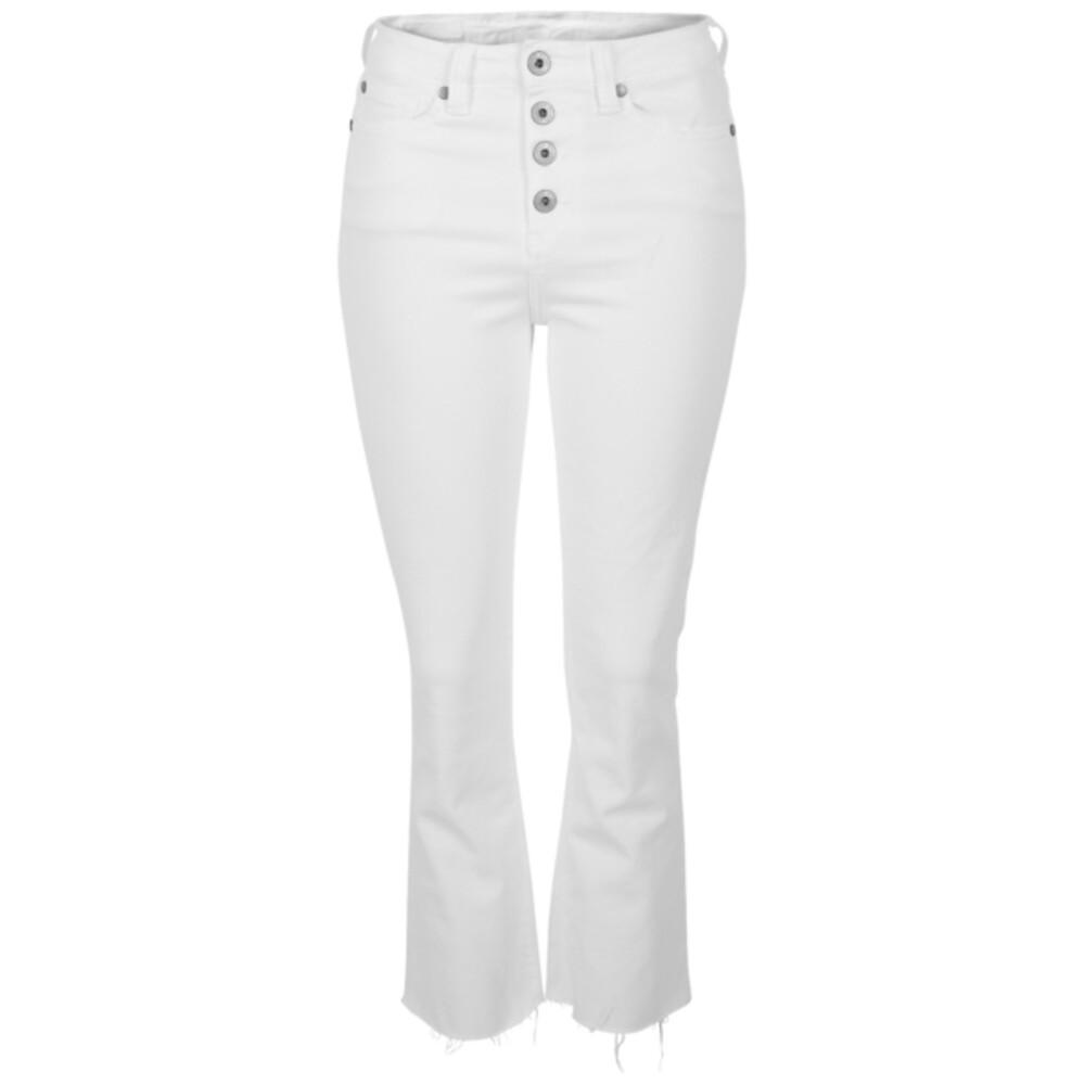 White Charlie Bukse  Denim Studio  Bukser - Dameklær er billig