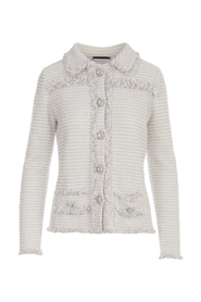 BOUCLE KNITTED JACKET