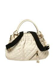 Quilted Leather Cecilia Satchel