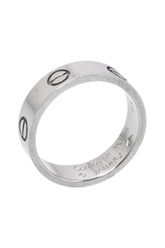 Pre-owned 18K White Gold Ring