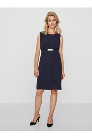 Nursing dress belted