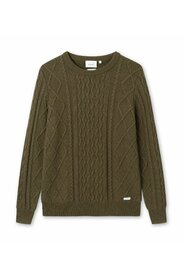 GROW  CABLE KNIT