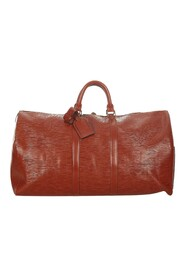 Pre-owned Epi Keepall 55 Leather