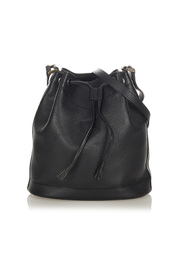 Pre-owned Bucket Bag Leather