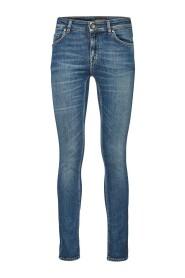 Blå Tiger of Sweden Slight Dame Jeans