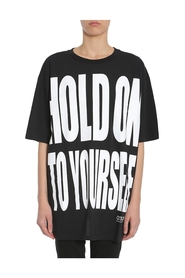 Ara Hold On To Yourself Print Oversized T-Shirt