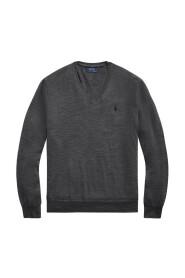 V-hals sweater 710714347-009