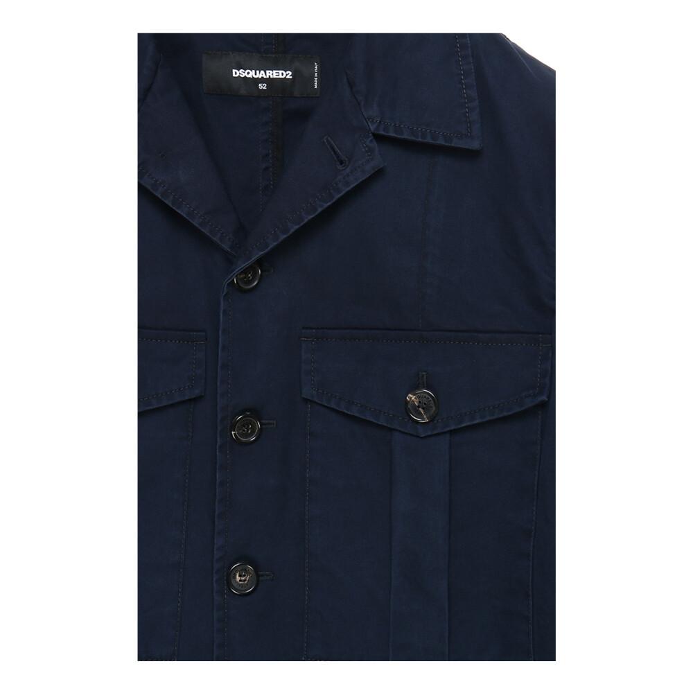 Dsquared2 Blue Jacket Dsquared2