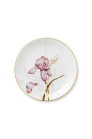 Flora Iris Plate Interior