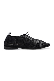 Woven derby shoes