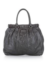 Vitello Shine Satchel Bag