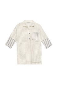 Shirt With Mix Of Stripes