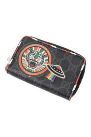 Night Courrie Tiger Print Card Case