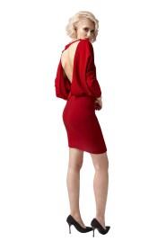 Sukienka mini z odsłoniętymi plecami