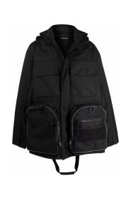 Transformer Gym Bag Parka Coat