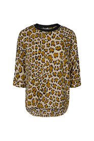 Mønster Co`Couture Dorset Animal Blouse Bluse