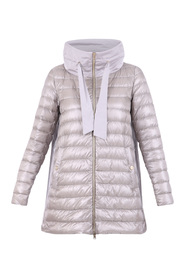 Nylon and taffeta padded jacket