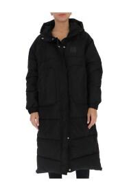 oversize hooded parka coat