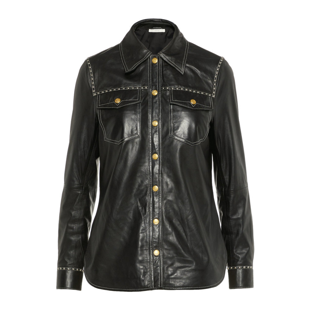 Shirt Studded Leather