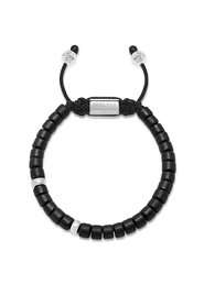 The Tulum Collection - Black Ceramic and Silver