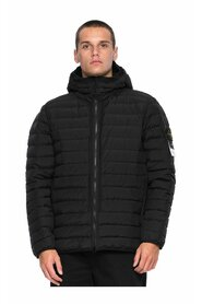 Hooded Real Down Jacket