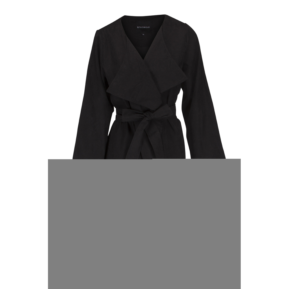 Price Nella Coat Black Rut & Circle