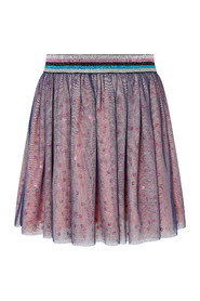 Colour Block Sequin Girl Daywear Skirt