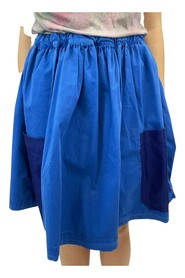 above the knee wide fit skirt