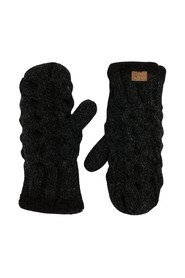 Chunky gloves charcoal