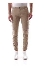 40WEFT AIKO 3708 PANTS Men Beige