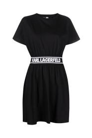 Logo Tape Tshirt Dress