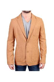 Wool Blend Two Button Blazer