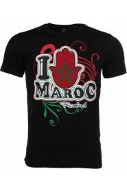 T-shirt I Love Maroc