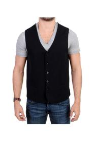 wool blend casual vest