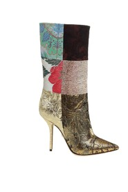 Boots in sicilian patchwork fabrics