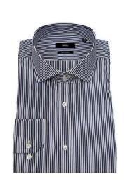 Regular fit striped cotton shirt Model Gordon 50418530