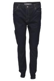 Mingel Ella Regular Jeans Mörkblå