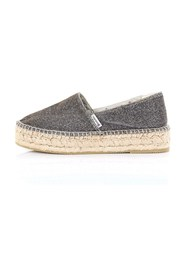 DOMMY Espadrilles Women Silver