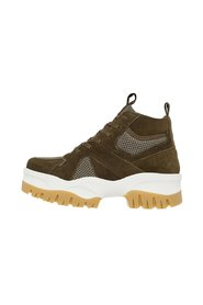 High top trainers Chunky sole